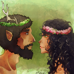 Attis and Ceres by TheSylverLining