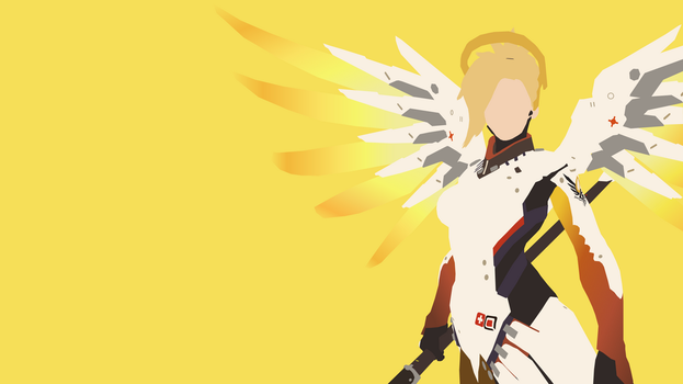 Mercy from Overwatch by Reverendtundra