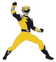 HyperForce Yellow Ranger by RiderB0y