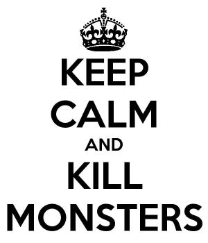 Keep Calm and Kill Monsters: All Demigods by annabethdp