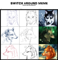 Switch Around Meme! by Rinermai