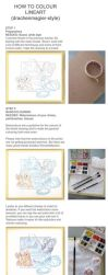 Traditional Media Colouring Tutorial by drachenmagier