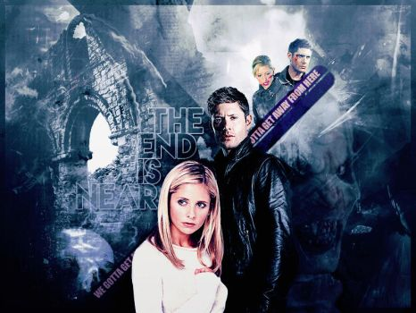 Crossover Blend Buffy and Dean by SarahZwerg