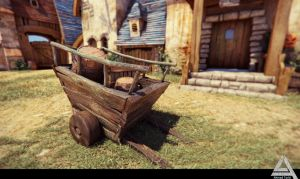 Old Cart by AhmadTurk