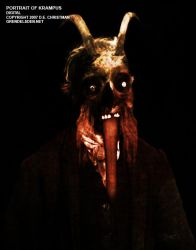 Portrait of Krampus by grendelsden