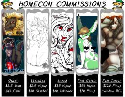 HomeCon 2016 - Commissions OPEN! by Temrin
