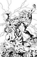 Ultimate Thor Cover 4 by DexterVines
