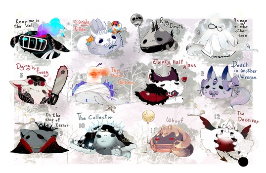 [OPEN+EXTRA] SPECIAL Halloween Piffies by Piffi-sisters