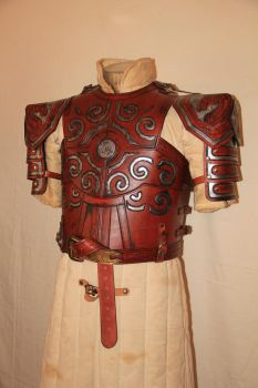 Eomer - Lord of ther Rings - body armor front by HamraBDG