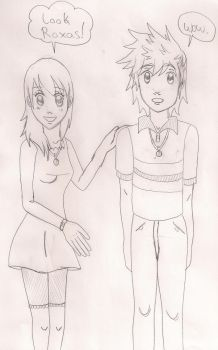 Namine and Roxas by Bella-Who-1