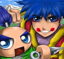 Mystical Ninja Goemon by PepperBug