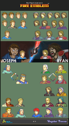 [4/5] What if Ryan and Joseph were in Fire Emblem by MSPToons