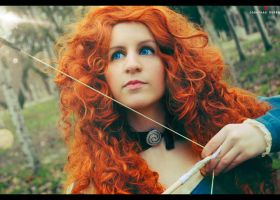 Merida from BRAVE by VeroEs