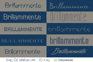 Fonts #02 by lucemare