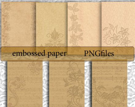 Embossed Paper 2 by roula33