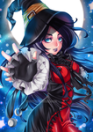 Commissioned Work - Midnight Witch by iamtabbychan