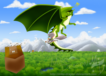 Commish - Clazzeh [3]: Gone With The Wind by Mike-Dragon