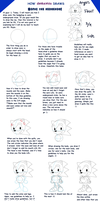 Tutorial How To Draw Sonic by Domestic-hedgehog