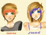 OC- Dorian and Joshua by Kim-SukLey