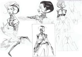 Aeon Flux by timothygreenII