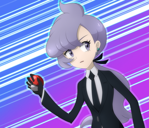 Anabel Would Like To Battle! by Destron23