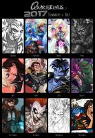 Summary of Art: 2017 by Quarter-Virus