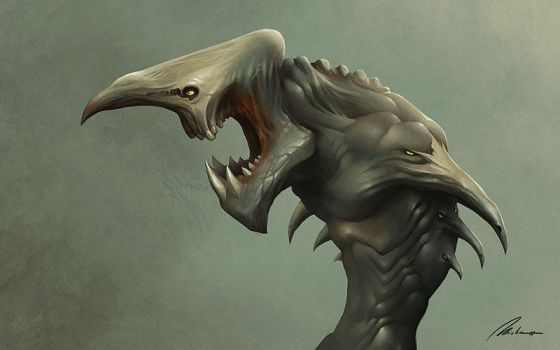 Random Creature Concept by Dreamphaser