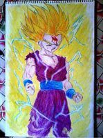 2013 drawing - Gohan by nielopena