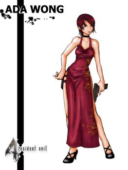 Ada Wong by Patch-The-Pirate