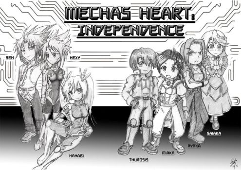 Mechas Heart: Independence by Thurosis