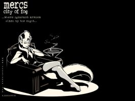 Ann, 'Mercs: CoF' wallpaper by Xatchett