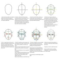 Adult Face Guide Line Tutorial by Guidlinn