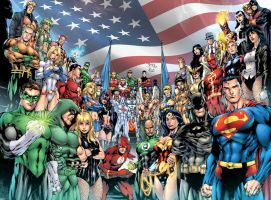 the Justice League of America of the Benes!!!!!!!! by dinei