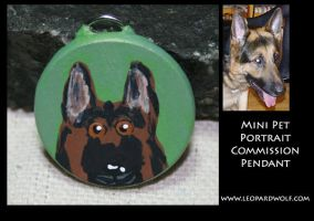 Pet Pendant Commish 3 for DD by leopardwolf