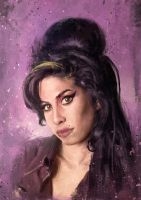 Amy Winehouse by IgnacioRC