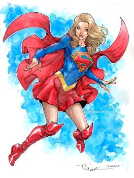 Supergirl by ToddNauck