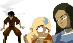 Aang: The Firebender by wigmania