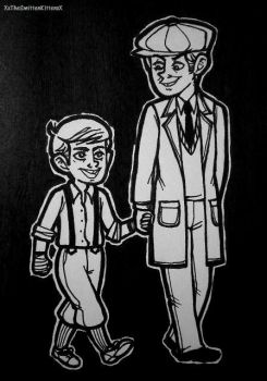 Older Adult Scout and son by XxTheSmittenKittenxX