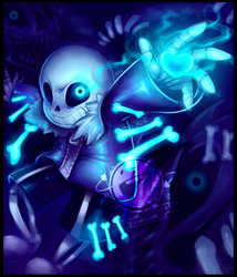 Sans - Undertale - You're gonna have a bad time! by WalkingMelonsAAA