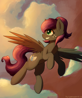 Golden Hour Flight by Vulpessentia