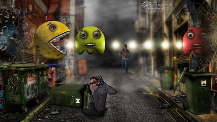 PacMan - The final battle by genivaldosouza