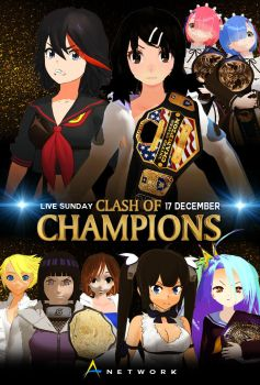 Clash of Champions 2017 Poster Final Ver by vayne90
