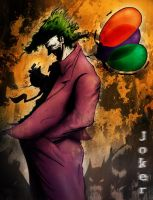 The Joker- colored by DrewtheUnquestioned