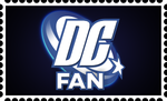 DC Fan Stamp by RetroUniverseArt