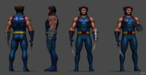 Wolverine (Age Of Apocalypse) FF by SSingh511