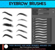 Eyebrow Brushes by itaXita