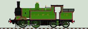 LSWR M7 liveries - 245 by 2509-Silverlink