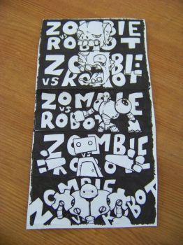 I present to you STICKERS by Zombievsrobot