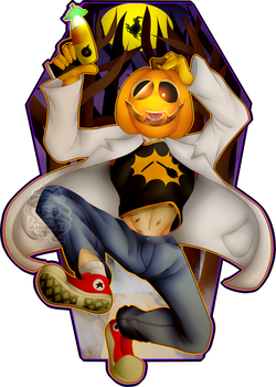 Dr.Pumkin Flug by Atomic52