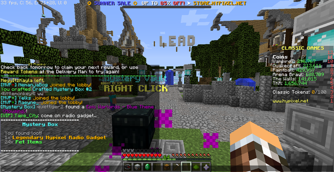 It Happened again on Hypixel... by Tape-City